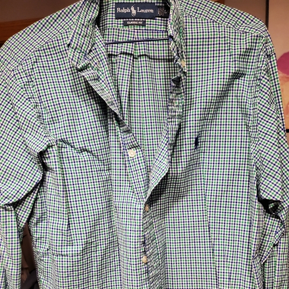 Large Men's Ralph Lauren shirt for only $20